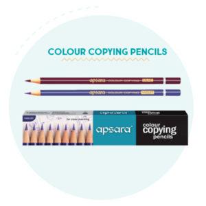 Apsara Colour copying Pencils (10 pc pack)