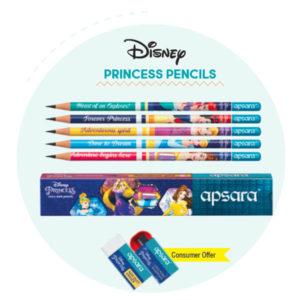 Apsara Disney Princess Pencils (10 pc pack)