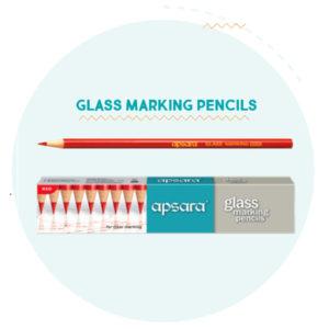 Apsara Glass Marking Pencils (10 pc pack)