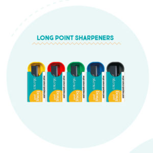 Apsara Long Point Sharpeners - 1 pc pack