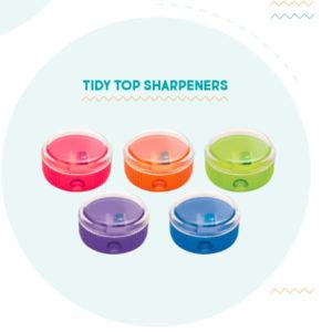 Apsara Tidy Top Sharpeners- 1 pc pack