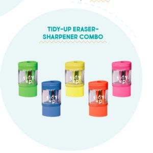Apsara Tidy-up Eraser-Sharpener Combo - 1 pc pack