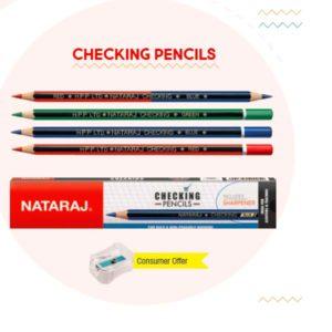 Nataraj CHECKING PENCILS - 10 pc pack