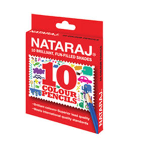 Nataraj Colour pencils - 10 HS