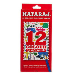 Nataraj Colour pencils - 12 FS