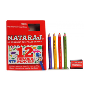 Nataraj Colour pencils - 12 HS