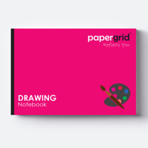 PaperGrid Drawing Book / 32 Pages