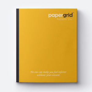 PaperGrid NoteBooks / 160 Pages / Single Line