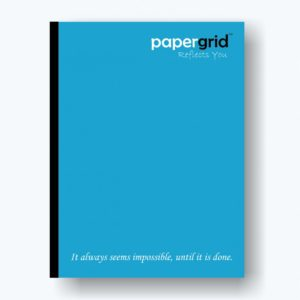 PaperGrid School Note Books / UnRuled Book / 156 Pages