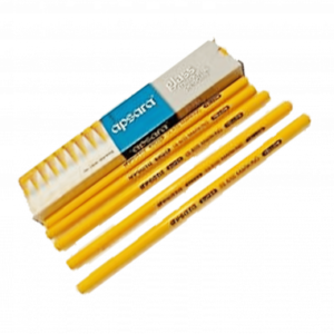 Apsara Glass Marking Pencils (10 pc pack) Yellow Colour