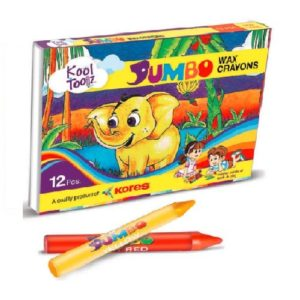 Multicolor Wax Kores Jumbo Crayons, Packaging Type: Packet, Packaging Size: 12 Pieces