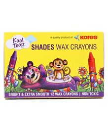 Shades Wax Crayons