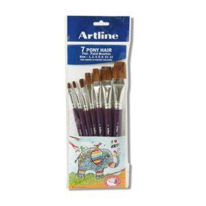 7-pony-hair-flat-paint-brushes-size-124681012