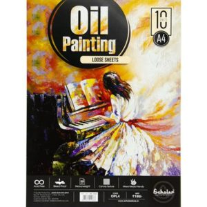 A4 OIL PAINTING LOOSE SHEETS - 300 GSM