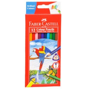 Faber Castell - 12 Shades Colour Pencils