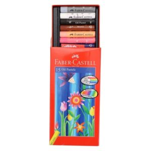 Faber Castell - Oil Pastels - 15 Shades