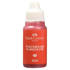 Faber Castell White Board Marker Ink - Red Colour