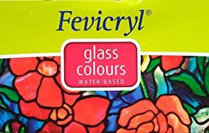 Fevicryl Glass Colours - 10 Shades