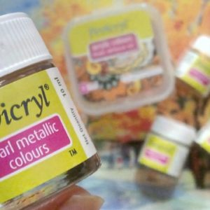 Fevicryl Pearl Metallic Colours - Gold Colour
