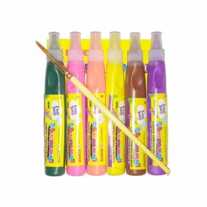 Kores Student Tempera Colours - 6 Assorted Colour Tubes