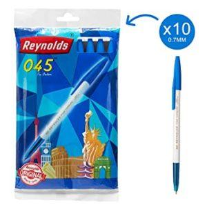 Reynolds Pen 045 - Blue Colour - Pack of 10 Pens