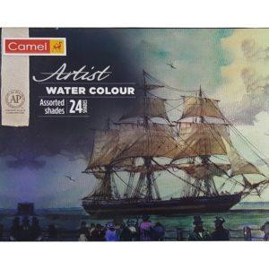 Camel Artist Water Colour Tubes - Assorted Shades - 24 Shades - 5ml each