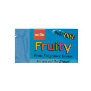 Cello FRUITY Dust Free Eraser (Fruit Fragrance Eraser)