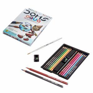 DOMS AQUA 12 Water Colour Pencil