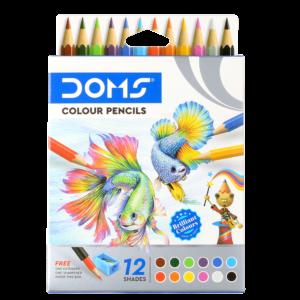 DOMS Colour Pencils - 12 Shades