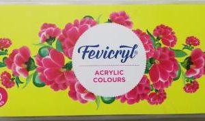 Fevicryl Acrylic Colours - 10 Shades