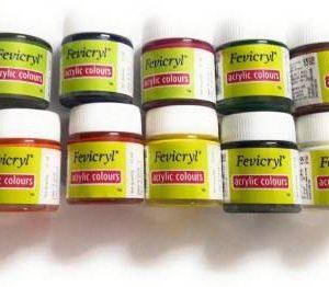 Fevicryl Acrylic Colours