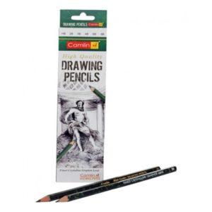 Camlin High Quality Drawing Pencils - HB / 2B / 4B / 6B / 8B / 10B